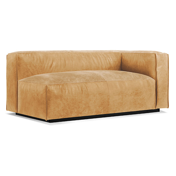 Cleon One Arm Leather Sofa
