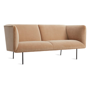 "Dandy 70"" Velvet Sofa"