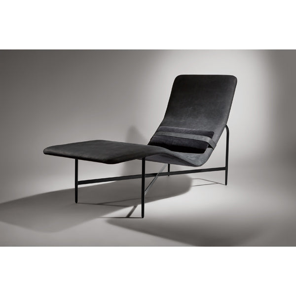 Deep Thoughts Leather Chaise Lounge Urban Mode