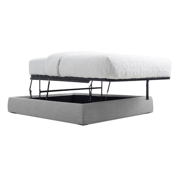 Lid Queen Platform Storage Bed