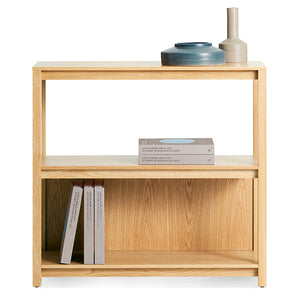 Open Plan Small Low Bookcase