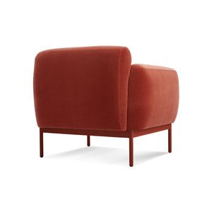 Puff Puff Velvet Lounge Chair