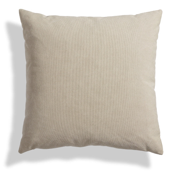 "Signal Leather 20"" Square Pillow"