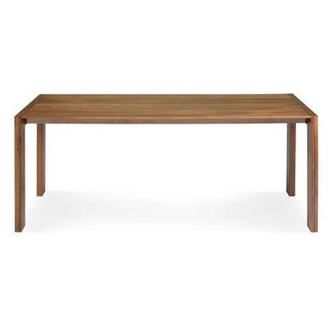 "Second Best 76"" Wood Dining Table"