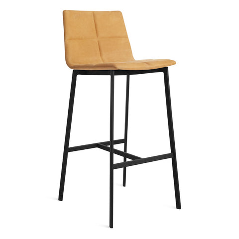 Between Us Leather Bar Stool
