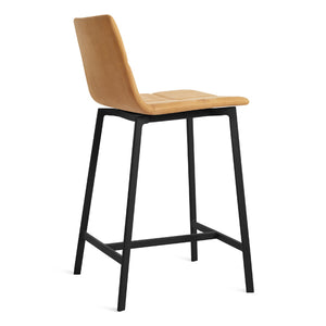 Between Us Leather Counter Stool