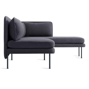 Bloke Armless Sofa with Right Arm Chaise