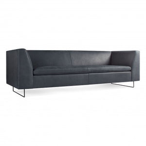 "Bonnie 96"" Leather Sofa"
