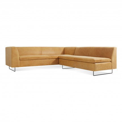 Bonnie and Clyde Leather Sectional