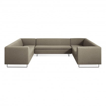 Bonnie and Clyde U-Shaped Sectional Sofa