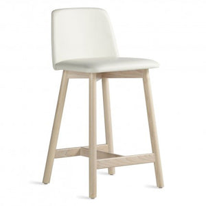 Chip Leather Counter Stool