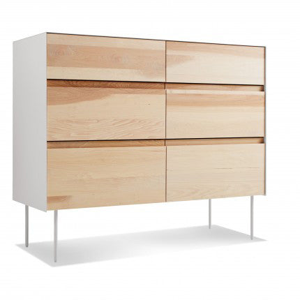 Clad 6 Drawer Dresser - New Colour!