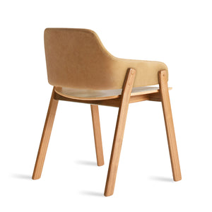 Clutch Leather Dining Chair