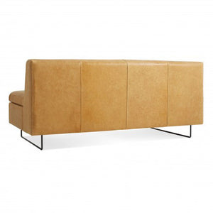 "Clyde 67"" Leather Sofa - New Colour!"