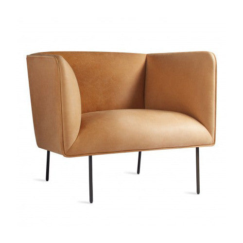 Dandy Leather Lounge Chair - New Colours!