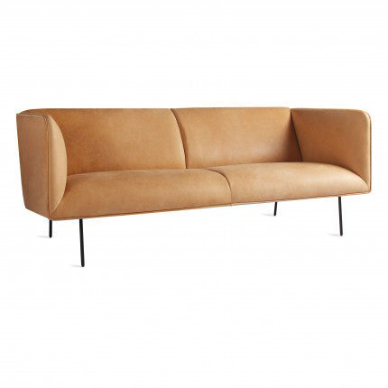 "Dandy 86"" Leather Sofa"