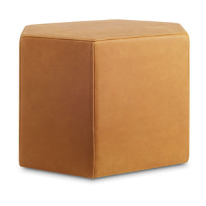 Hecks Leather Ottoman - New Colours!