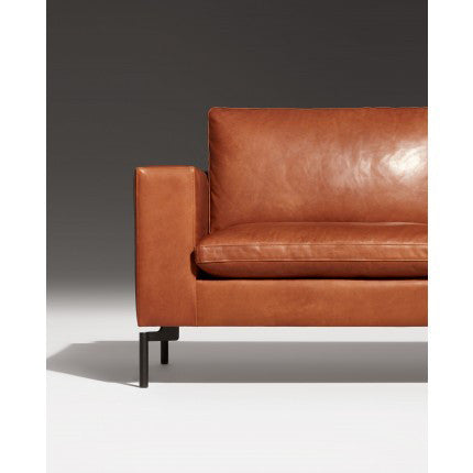 "New Standard 104"" Leather Sofa - New Colour!"