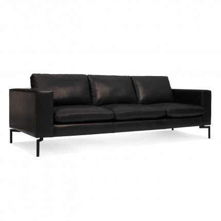 "New Standard 92"" Leather Sofa - New Colour!"