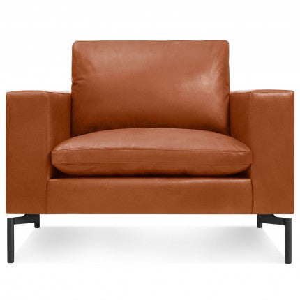 New Standard Leather Lounge Chair - New Colour!