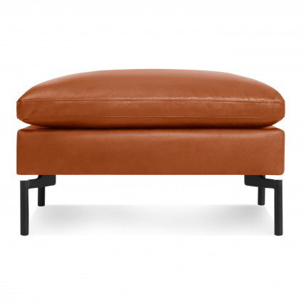 New Standard Leather Ottoman - New Colour!