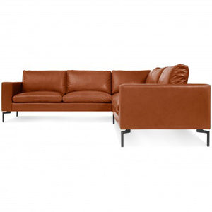 New Standard Leather Sectional Sofa
