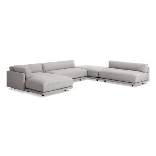 Sunday J Sectional Sofa w/ Left Chaise - New Colours!