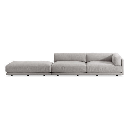Sunday Long and Low Right Sectional Sofa