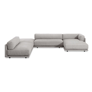 Sunday J Sectional Sofa w/ Right Chaise