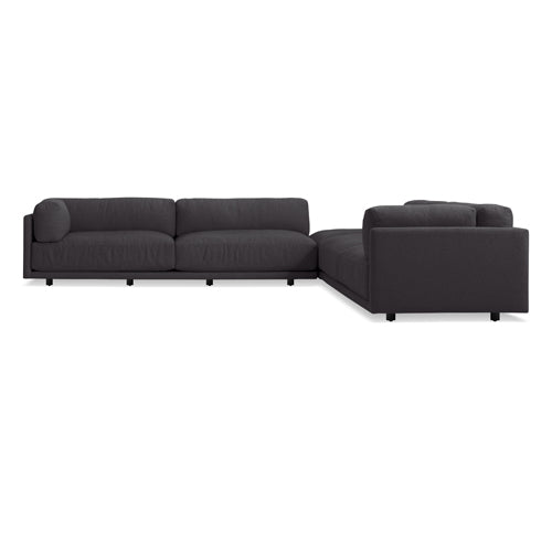 Sunday Backless L Sectional Sofa - New Colours!
