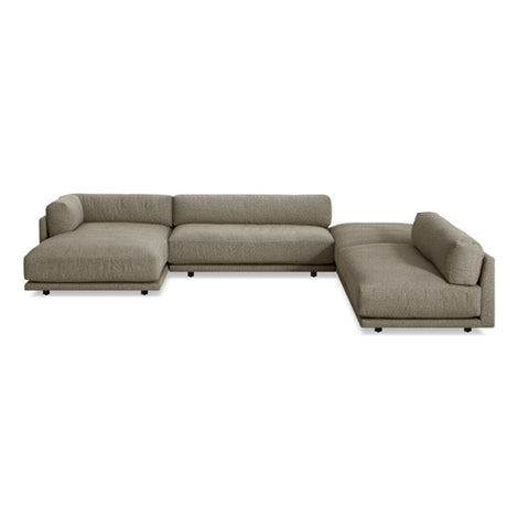 Sunday J Sectional Sofa w/ Left Chaise