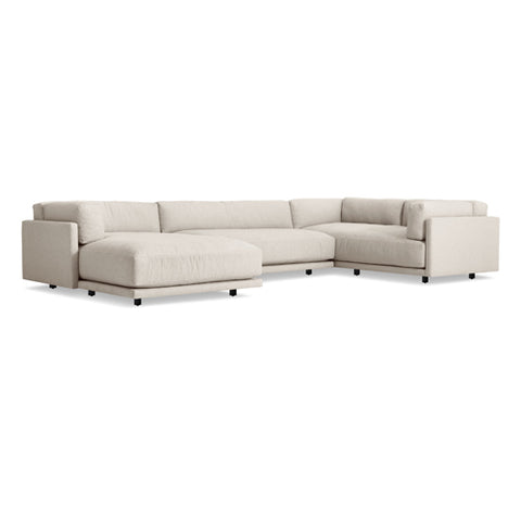 Sunday L Sectional Sofa w/ Left Arm Chaise - New Colours!