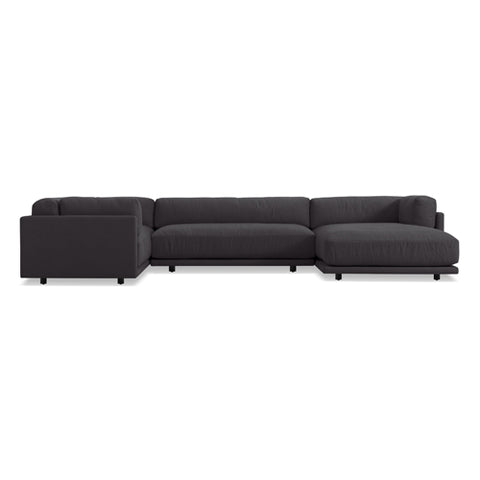 Sunday L Sectional Sofa w/ Right Arm Chaise - New Colours!