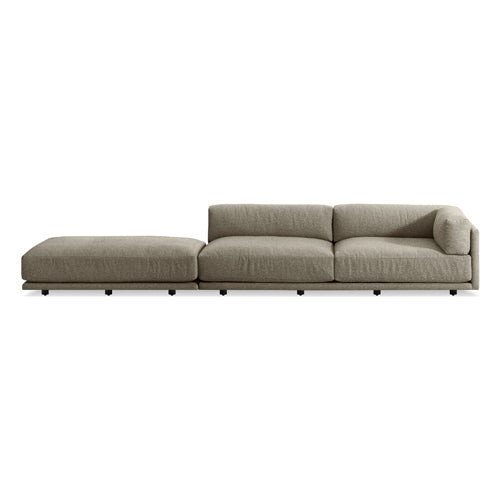 Sunday Long and Low Right Sectional Sofa - New Colours!