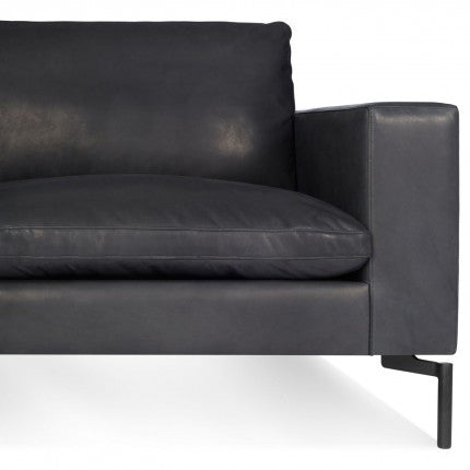 New Standard Leather Sectional Sofa - Large - New Colour!