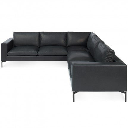 New Standard Leather Sectional Sofa Small New Colour Urban Mode
