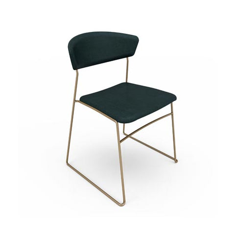 Wolfgang Metal Stackable Dining Chair
