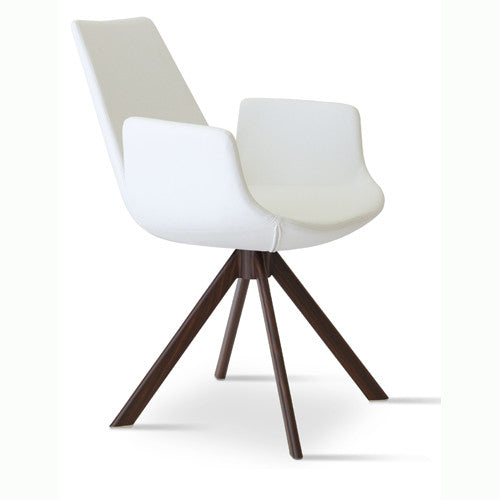 Eiffel Arm Sword Dining Chair