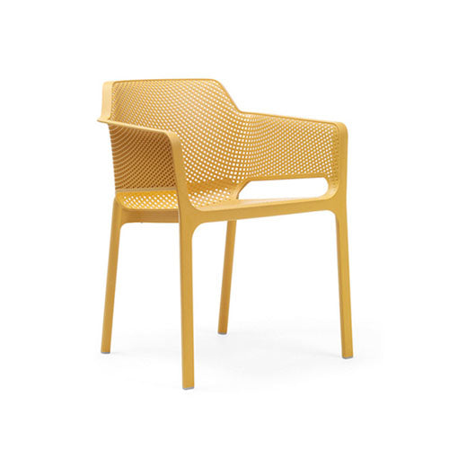 Net Outdoor Dining Arm Chair