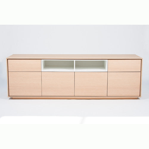 Credencia - 4 Doors/2 Drawers/2 Section Insert