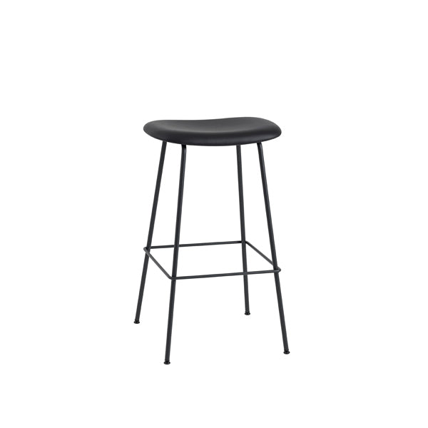 Fiber Bar Stool - Tube Base - Upholstered