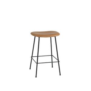 Fiber Counter Stool - Tube Base - Upholstered
