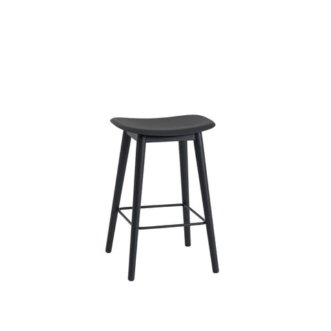 Fiber Counter Stool - Wood Base