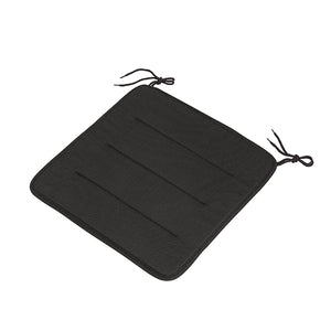 Linear Steel Outdoor Chairs Seat Pads
