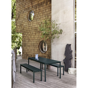 Linear Steel Outdoor Tables - 2 Sizes