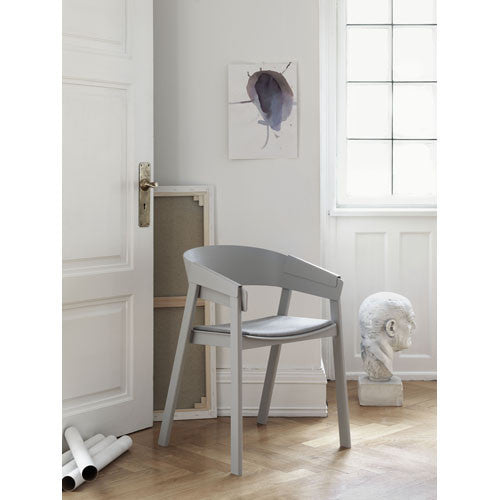 Cover Dining Chair - Leather Seat | Urban Mode