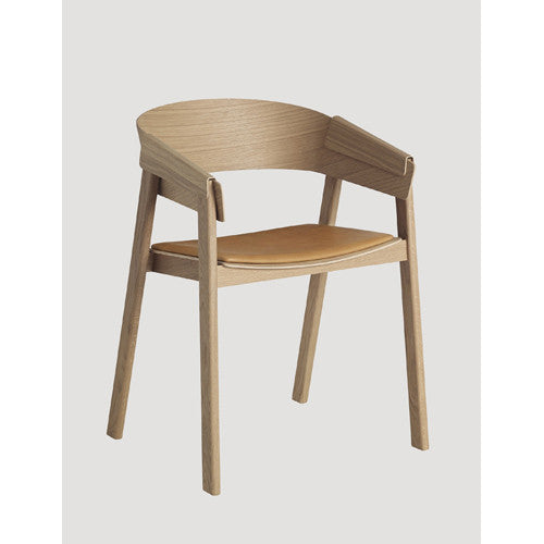 Cover Dining Chair - Leather Seat