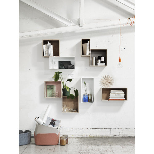 Mini Stacked Wall Hung Shelf System