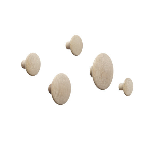 The Dots - Coat Hooks - Set of 5
