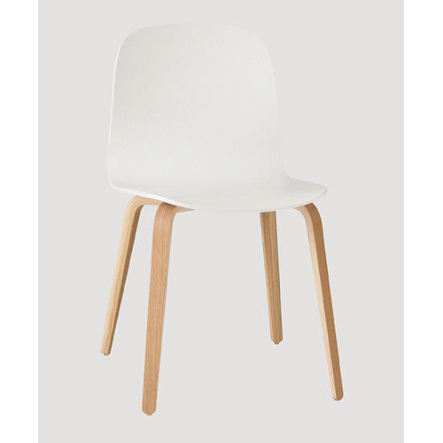 Visu Dining Chair - Wood Base - Wood Shell